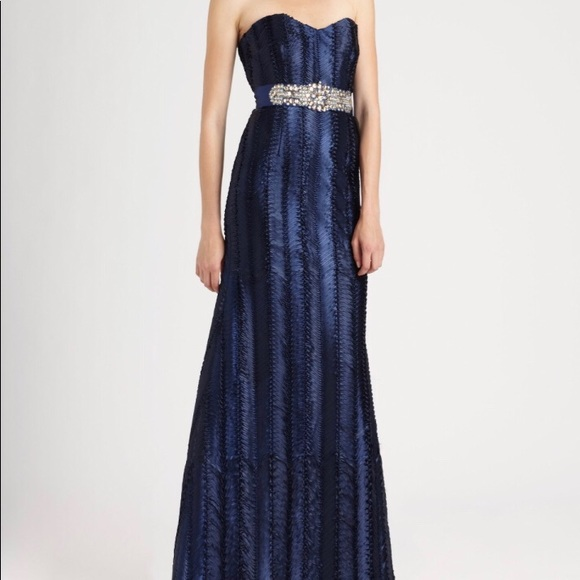 Badgley Mischka Dresses | One Of A Kind Evening Gown | Poshmark